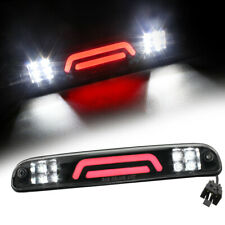 Led Third 3rd Brake Light Black For 1999-2016 Ford F250 F350 Super Duty Cargo 3D