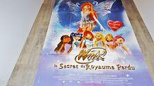 WINX  le royaume perdu    !  affiche cinema animation bd