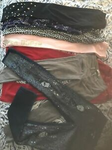 Lot Of 7 Girls Pants/leggings Size 10/12 Half NWOT