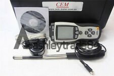 Hot Wire Thermo-Anemometer Temperature Tester Air Flow Velocity Meter DT-8880