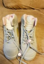 nike air jordan 5 girls size 4y no insoles use old ones washed dried