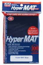 KMC Hyper Matte USA 100 ct. Standard Size Sleeves - Blue Pack