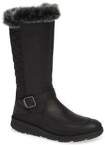 Merrell Tremblant Ezra Tall Waterproof Ice+ Womens Winter Snow Boot Black Size 8
