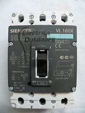 SIEMENS 32 Amp 70 KA TRIPLE POLE mccb vl160x 3vl10703 2da36 0AA0 BS EN 60947