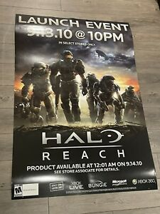 Halo Reach official launch poster