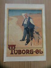 Altes Tuborg-OL Werbeplakat