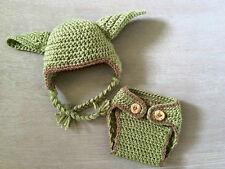 Fotoshooting  Neugeborene Baby Yoda Hut + Hose  Kostüm  Foto - Shooting