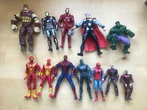 Marvel Action Figure Bundle. X12