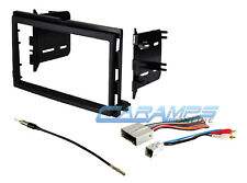 CAR STEREO RADIO KIT DASH INSTALLATION MOUNTING TRIM BEZEL W/ WIRING HARNESS