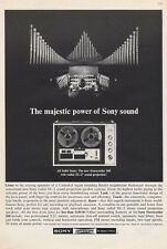 1965 Sony Superscope 260 Reel to Reel Models XL-2 Quadradial Sound PRINT AD
