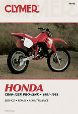 Clymer Repair Service Shop Manual Vintage Honda CR60R 83-84 CR80R/CR125 81-88