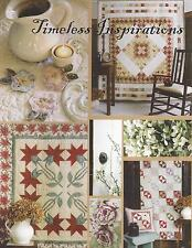 Timeless Inspirations Quilting Book by Pam Puyleart and Terry Albers