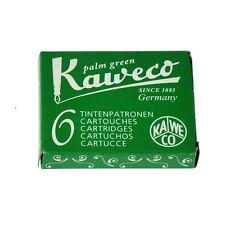 Kaweco Fountain Pen Ink Cartridge Short Green - Pack of 6