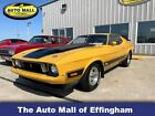 1973 Ford Mustang Mach 1 Fastback 1973 Ford Mustang Mach 1 Fastback 58,060 Miles Yellow Coupe Select Manual