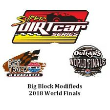 2018 Big Block Modifieds World Finals DVD From The Dirt Track At Charlotte