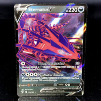 Eternatus V - SWSH Darkness Ablaze - 116/189 - Half-Art Rare Pokemon Card