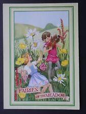 Fairies FAIRIES OF THE MEADOW by J. Salmon Postcard c1980's