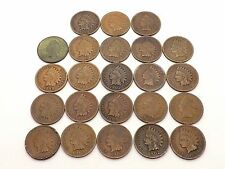 NICE LOT OF 23 INDIAN HEAD PENNIES IN VARYING CONDITIONS ~SEE PHOTOS~