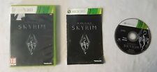 SKYRIM The Elder Scrolls V - XBOX 360 - Complet - PAL -