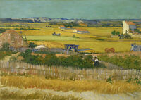 Vincent van Gogh: The Harvest. Fine Art Print/Poster