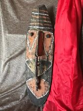 Old Papua New Guinea Carved Mask / Wall Hanging / Ancestral Carving...
