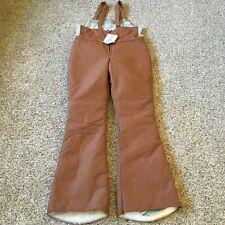 New listing Vintage Eddie Bauer Men's Goose Down Snow Pants Bibs X-Large New W/Tags