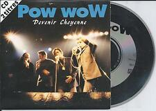 POW WOW - Devenir Cheyenne CD SINGLE 2TR CARDSLEEVE 1992 FRANCE Hip Hop