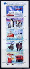 Japan 2007 Antarktis Pinguine Hunde Antarctic I  4145-54 Kleinbogen ** MNH