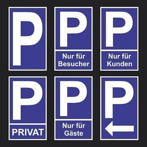 Schild Parkplatz Privat Kunden Gäste Privatparkplatz Hinweis Besucher Pfeil
