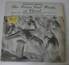 - THEODORE DUBOIS: The Seven Last Words of Christ LP Record Lyrichord -