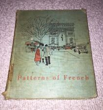 Patterns of French Conversation - Ketcham Collignon - Harcourt Hardcover 1957