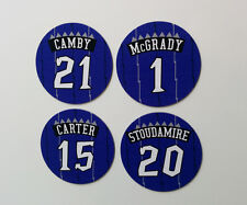 Toronto Raptors Retro Magnets: Vince Carter, Tracy McGrady, Camby Stoudamire