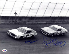 David Pearson & Richard Petty DUAL SIGNED 11x14 Photo NASCAR PSA/DNA AUTOGRAPHED