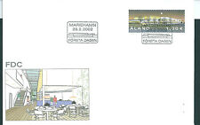 Aland 2002 Building on unaddressed post office first day cover
