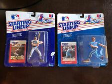 1988 Starting Lineup Mike Schmidt Phillies & Don Mattingly Yankees Card & Figure