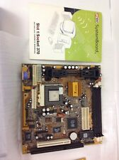 MOTHERBOARD M748LMRT REV.1.3A, SLOT 1, PGA 370 w/ SL364 QH216 With Intel Celeron