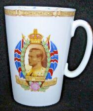 Edward VIII. Coronation Mug. SHELLEY Bone China. Perfect Condition