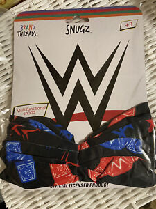WWE Kids Snood Face Covering Mask Brand New BNWT
