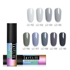 LILYCUTE UV Gel Nail Polish Set Soak Off Primer Sealer Nail Art Manicure Varnish