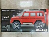 Traxxas 82096-4 TRX-4 Trail Crawler Mercedes-Benz G500 4X4 Red w/Free Light Kit!