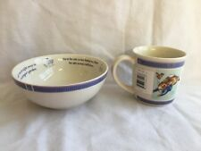 Peter Rabbit Wedgwood Mug & Bowl Beatrix Potter 2001