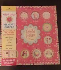 School Years Deluxe Memory Keeper Girls Preschool-12th 24 Pockets Class Photo