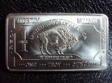 1 oz Unze Niob Niobium 999 American Buffalo Barren Seltene Rohstoffe Erden