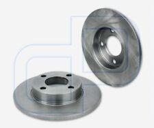 2 Bremsscheiben AUDI 80 B3 100 C3 44 44Q vorne  Vorderachse Durchmesser 256 mm u