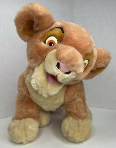Simba Thinkway Toys Lion Long Interactive Animated Plush Not Working Large