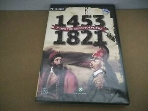 1453 - 1821 Time To Freedom Pc Cd Rom / Rare Greek Strategy Game / 505 Studios