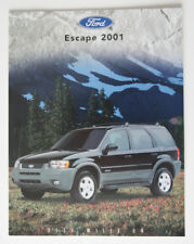 FORD ESCAPE 2001 dealer brochure - French - Canada ST1002000218