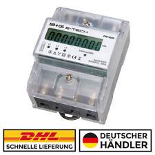 digitaler Drehstromzähler Stromzähler S0 LCD 20(80)A für DIN Hutschiene  DRT428D