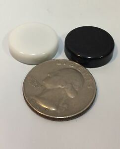 """Backgammon Replacement Part Pieces Black White Magnetic Travel Small 5/8"""" Lot 2"""