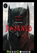 BATMAN DAMNED HARDCOVER New Hardback Collects 3 Part Series + Extras